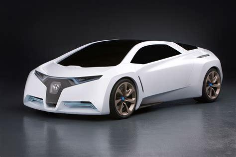 futuristic sports cars honda fc sport design study suggests hydrogen sports car