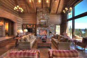 rustic living room with table l fireplace in