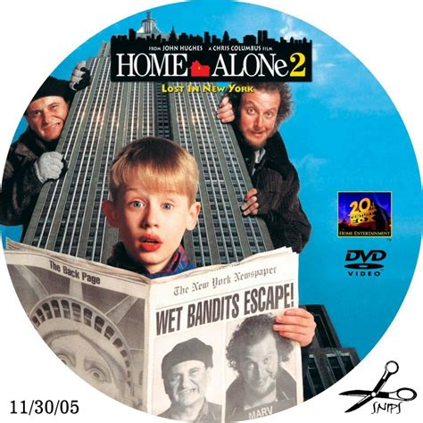 home alone 2 lost in new york custom dvd labels home