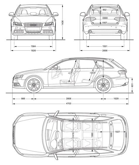 Abmessungen Audi A4 by 2008 Audi A4 Avant 3 0 Tdi Quattro Specifications And