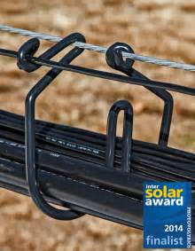Types Of Blindness Cab Cable Rings And Saddles For Solar Pv Arrays