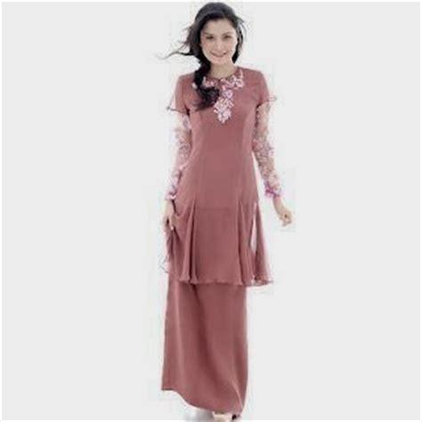 Baju Kurung Kembang Bawah koleksi baju kurung moden lace terkini zalora