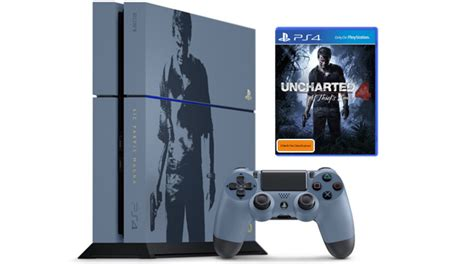 Ps4 Uncharted 4 Limited Tanpa uncharted 4 ps4 bundle announced rocket chainsaw