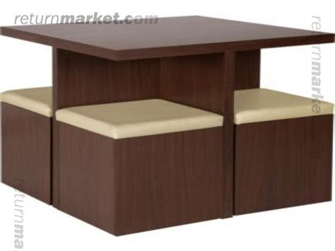 spacesaver dining table space saver dining table mahogany dropleaf spacesaver