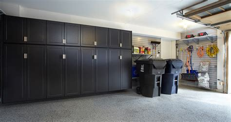 Bathrooms Floor Plans pewter garage cabinets with gray slatwall traditional
