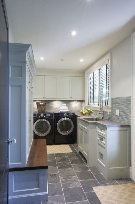 laundry room  mudroom transitional laundry room