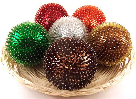 decorative balls pins bugle beads ball sequin balls