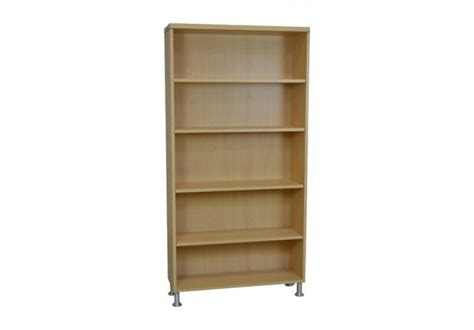 basic elements five shelf bookcase w legs bookcases