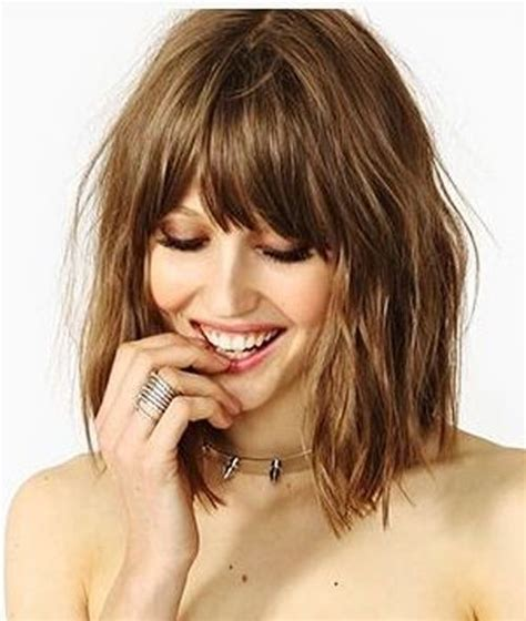 a bob with big bangs 17 overwhelming bob hairstyles 2018 for for an eye