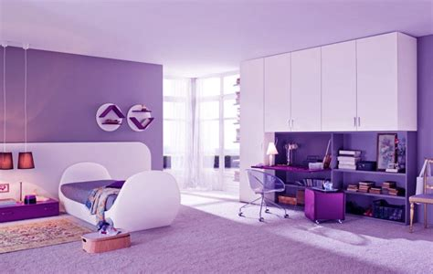 Purple Bedrooms purple girls room beautiful shining purple bedroom for girls jpg