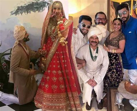 indian celebrity viral pics sonam kapoor anand ahuja wedding bollywood celebrities