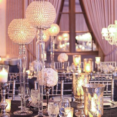 wedding reception d 233 cor unique centerpieces for your big
