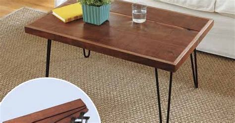 88 and easy decorative upgrades hairpin leg coffee table hairpin legs and diy coffee table