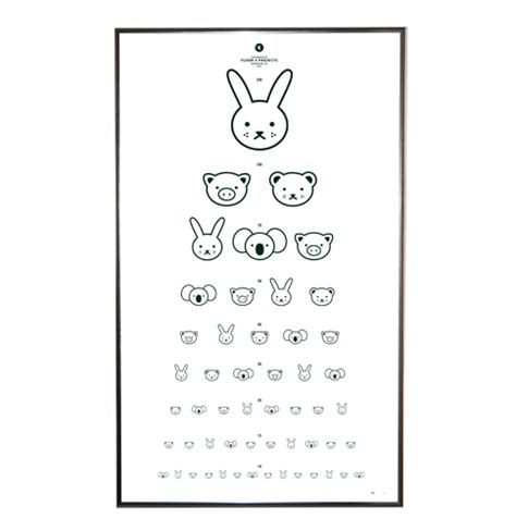 eye chart child visionary eyecare s blog quot the eye journal quot floor 4 projects eye chart print in black room to bloom