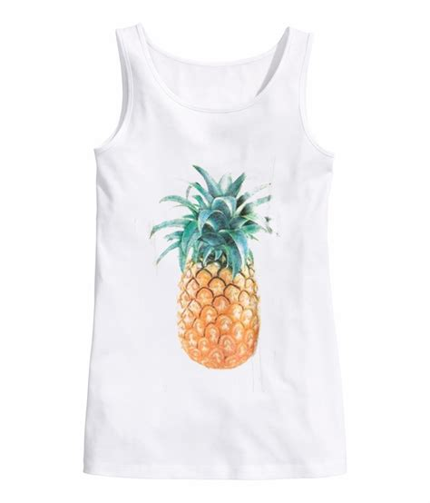 Pineapple Top pineapple tank top