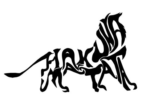 tribal raccoon tattoo hakuna matata by ziggy raccoon on deviantart tattoos