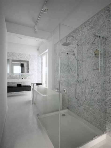 Grey Tile Floor Bathroom » Home Design 2017