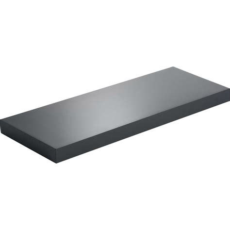 etagere 60 x 40 etag 232 re murale noir noir n 176 0 spaceo l 60 x p 23 5 cm ep