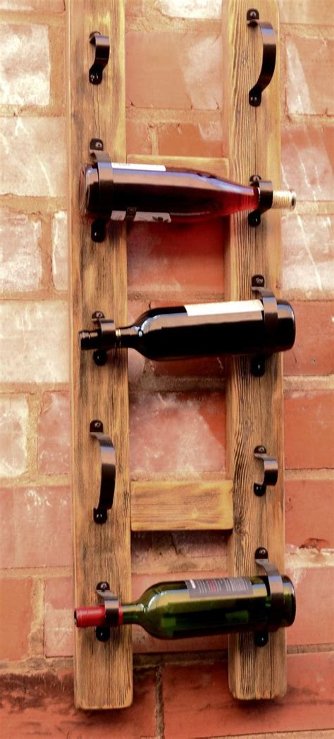 Diy Wall Mounted Wine Rack by Simple Diy Wine Rack Woodworking Projects Plans