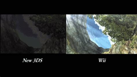 nintendo wii u vs new the new 3ds vs wii graphics comparison you ve been