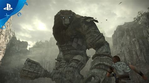 The Of Shadows shadow of the colossus ps4 trailer e3 2017