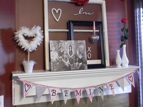 valentines mantel 19 lovely fireplace mantel decorating ideas