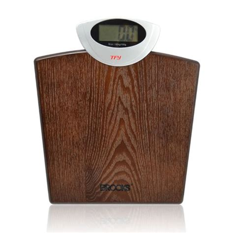 wooden bathroom scales tfy twb 2103 digital wood platform bathroom scale best
