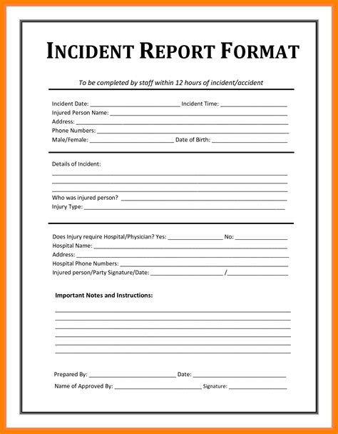 federal presentence investigation report template excellent criminal investigation report template images