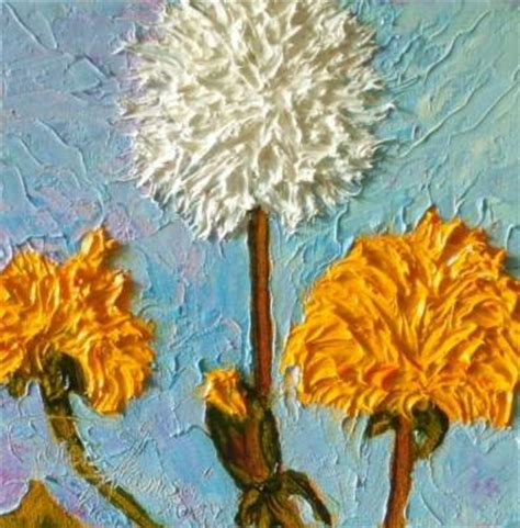 online contest flower paintings with texture