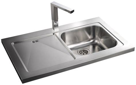 rangemaster kitchen sinks rangemaster mezzo 1 0 single bowl sit on stainless steel