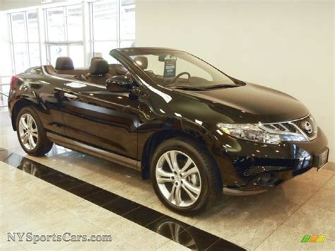 nissan crosscabriolet black 2011 nissan murano crosscabriolet awd in black