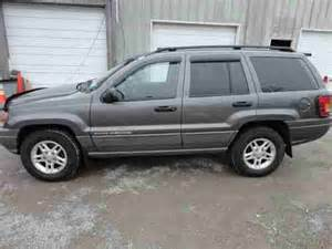 find used 2002 jeep grand laredo 4x4 suv salvage