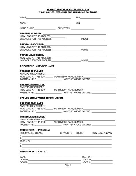 printable rental agreement template free printable landlord tenant rental lease agreement