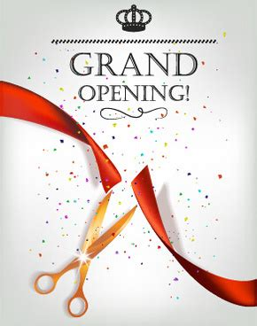 grand opening invitation templates grand opening invitation matter for pet shop free vector