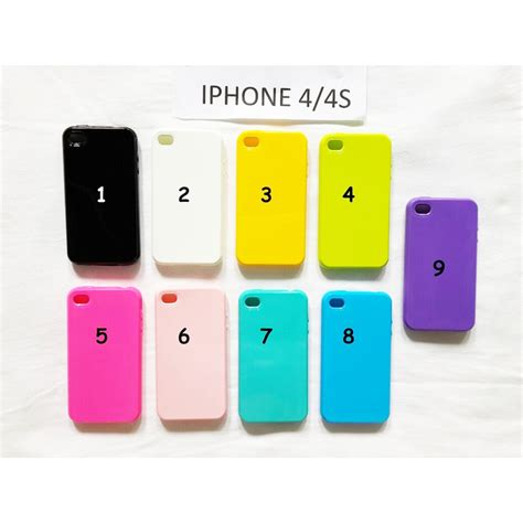 Jelly Spotlite Iphone 4 4s 7 jual jelly iphone 4 4s iphone 5 5s phoneandstuffs