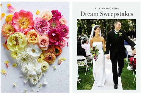 Honeymoon Sweepstakes 2014 - williams sonoma com dream registry 2014 sweepstakes sweepstakesbible