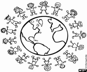 international day world day coloring pages printable