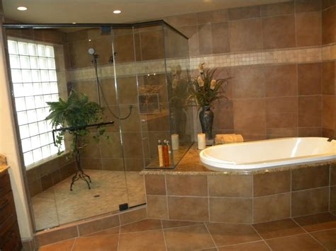 bathroom designs with shower and tub 25 wonderful large glass bathroom tiles