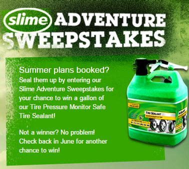 Free Slime Giveaway - slime adventure prizes sweepstakes giveaway