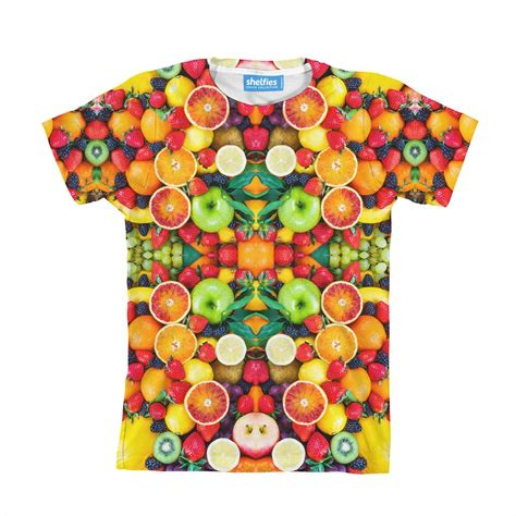 fruit t shirt fruit explosion youth t shirt shelfies all print