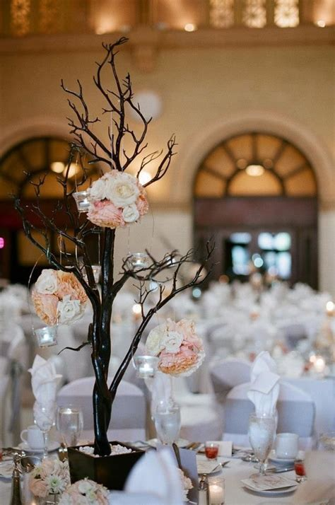 "White, silver and soft peach wedding decor.   ""I Do"