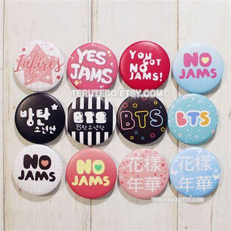 pin kpop hologram pin kpop bts bangtan boys pins button kpop badges no jams by terutebo