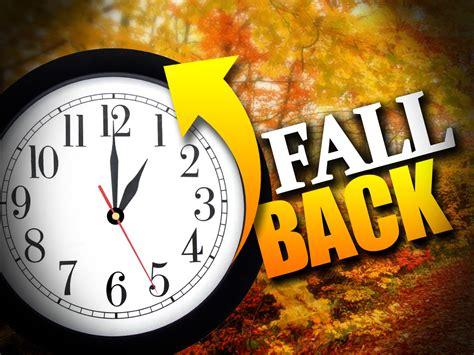 day lights saving time change tonight fall back 1 hr