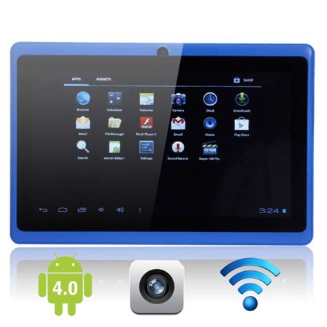 Tablet 4gb capacitive touch screen 7 quot android 4 0 4gb tablet pc blue 183 cheap tablets from china ctfc