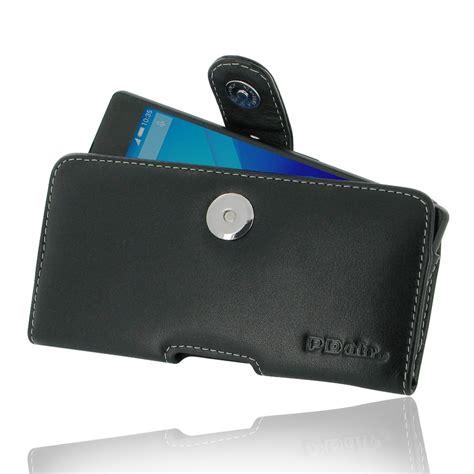 Sony Pouch Xperia M 1 sony xperia z3 plus xperia z4 leather holster belt clip