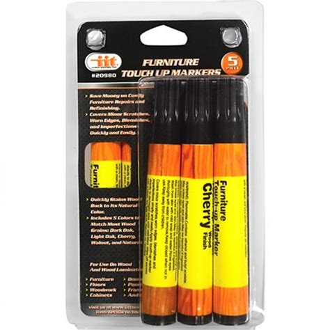 Furniture Touch Up Markers by Wholesale 5pc Furniture Touch Up Markers Glw
