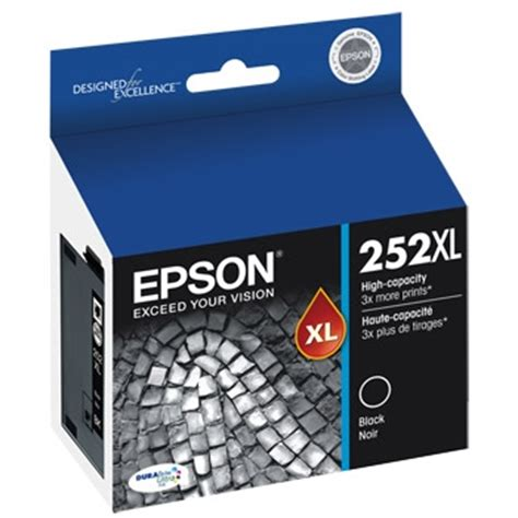 Catridge Epson Original Wadah Tintat07641 Black t252xl120 ink cartridge epson genuine oem black