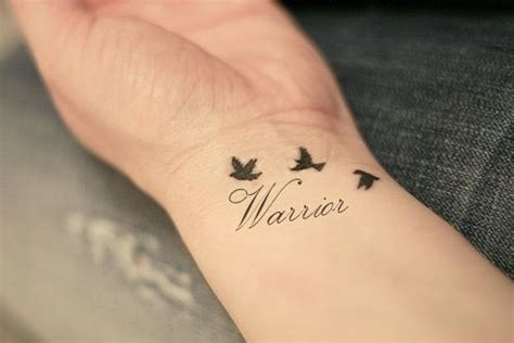 warrior word tattoo demi lovato inspired possible ink