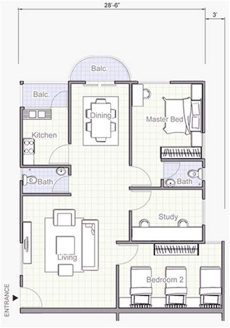 unit floor plans corner unit floor plan intermediate unit