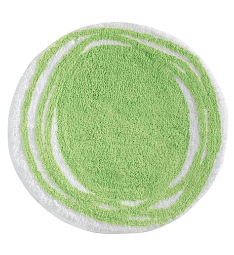 Green Bathroom Rugs by Doodle Design Microfiber Rug Green In Bathroom Rugs